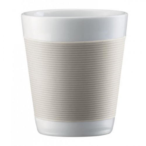 Bodum Bodum Canteen Cup 20cl Off White, 2-set