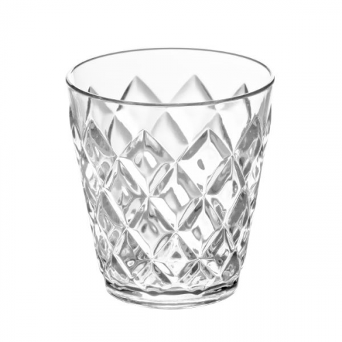 Koziol Dricksglas 200ml, crystal clear - Koziol 8-pack