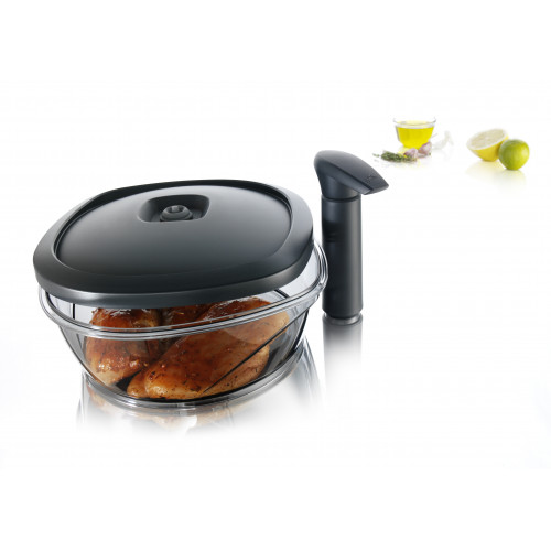 Instant marinater  with pump 2,5 l - Tomorrow kitchen